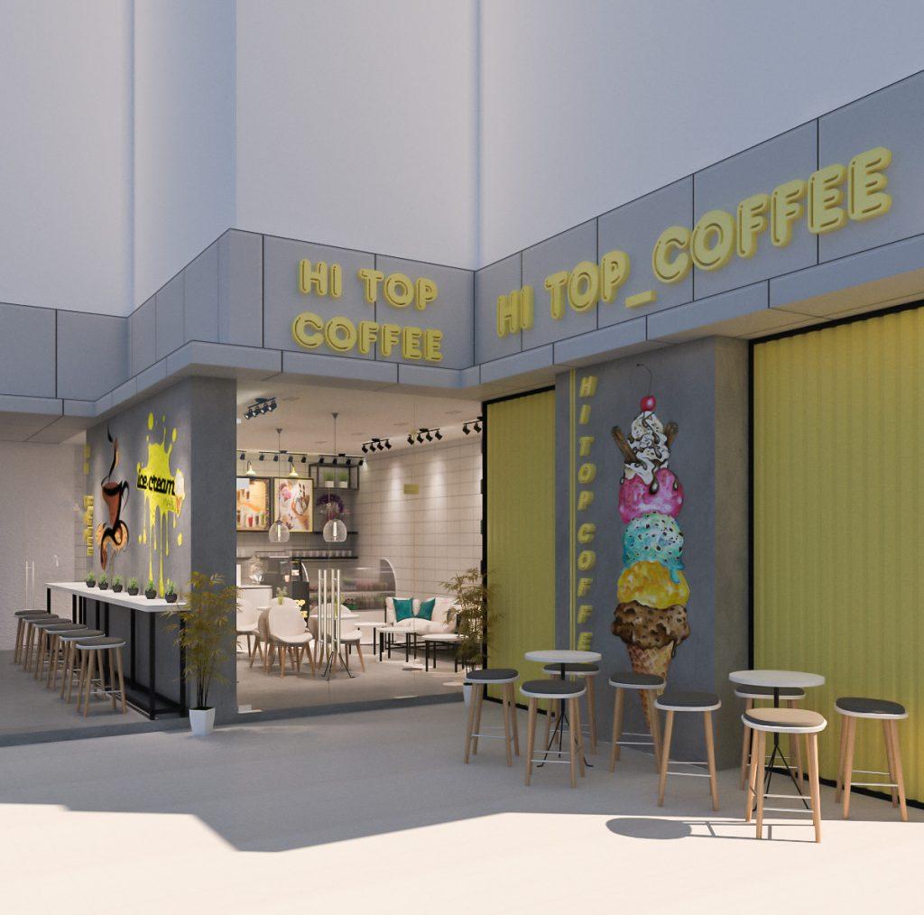 Hi Top coffee shop 2d7b968d8f2962773b38