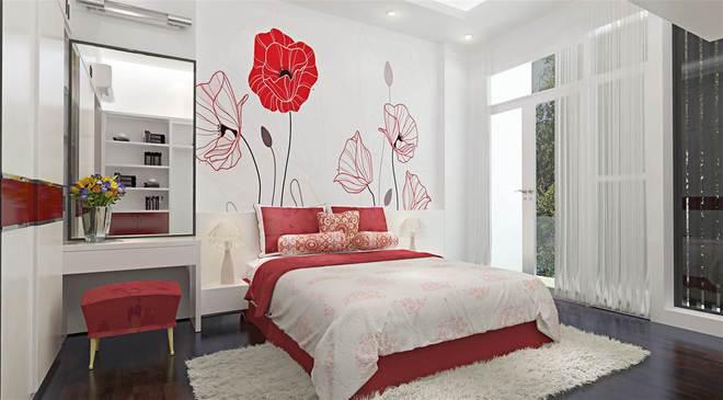 Bạn có biết những yếu tố nào làm phòng ngủ sinh động hơn? yeu to phong ngu2