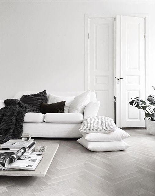 20 ý tưởng cho không gian phòng khách tối giản - Phần 2 mini bw