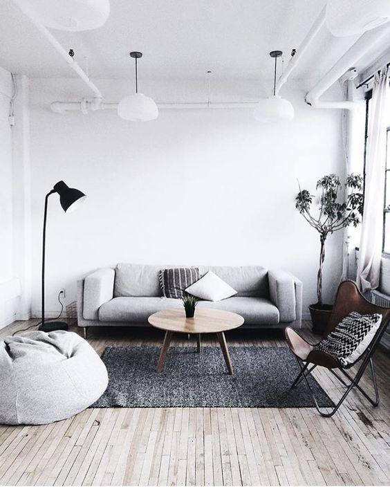 20 ý tưởng cho không gian phòng khách tối giản - Phần 2 mini living