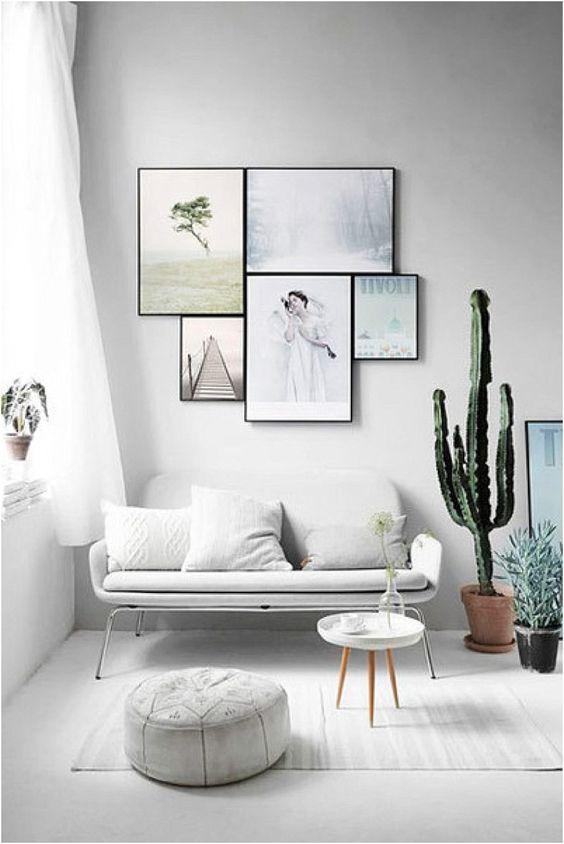 20 ý tưởng cho không gian phòng khách tối giản - Phần 2 mini small