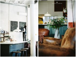 Coffeeshops And Cafes You Wish You Lived In 5. The matte black counters at Granja Petitbo in Barcelona.