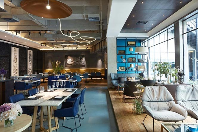 Nhà hàng Reading Food & Slow Living được thiết kế bởi Xyi, Nanning – China nha hang phong cach Trung 1