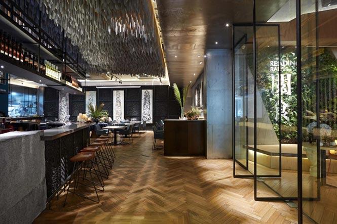 Nhà hàng Reading Food & Slow Living được thiết kế bởi Xyi, Nanning – China nha hang phong cach Trung 2