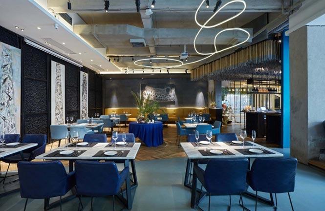 Nhà hàng Reading Food & Slow Living được thiết kế bởi Xyi, Nanning – China nha hang phong cach Trung 4