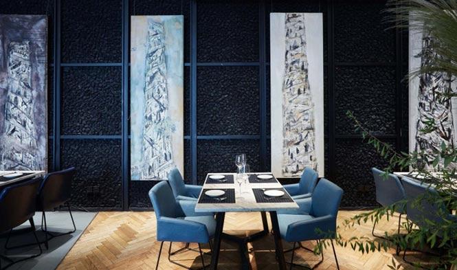 Nhà hàng Reading Food & Slow Living được thiết kế bởi Xyi, Nanning – China nha hang phong cach Trung 5
