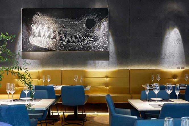 Nhà hàng Reading Food & Slow Living được thiết kế bởi Xyi, Nanning – China nha hang phong cach Trung 7