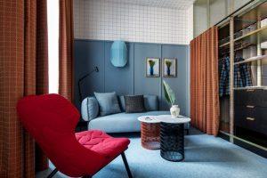 Patricia Urquiola thiết kế đầy màu sắc cho chuỗi khách sạn Room Mate ở MiLan patricia urquiola room mate hotels interior design milan dezeen 936 6 852x568