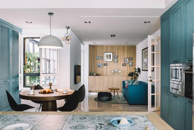 Ngôi nhà với thiết kế độc đáo dành cho gia đình có nhiều thế hệ thiet ke noi that can ho chung cu 12