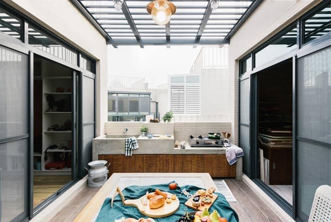 Ngôi nhà với thiết kế độc đáo dành cho gia đình có nhiều thế hệ thiet ke noi that can ho chung cu 16