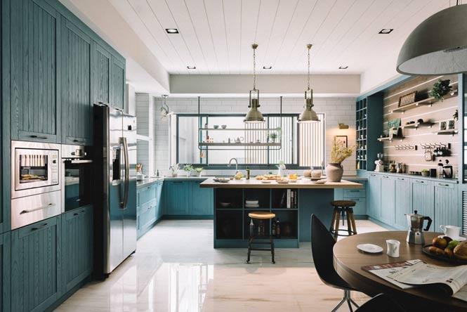 Ngôi nhà với thiết kế độc đáo dành cho gia đình có nhiều thế hệ thiet ke noi that can ho chung cu 5