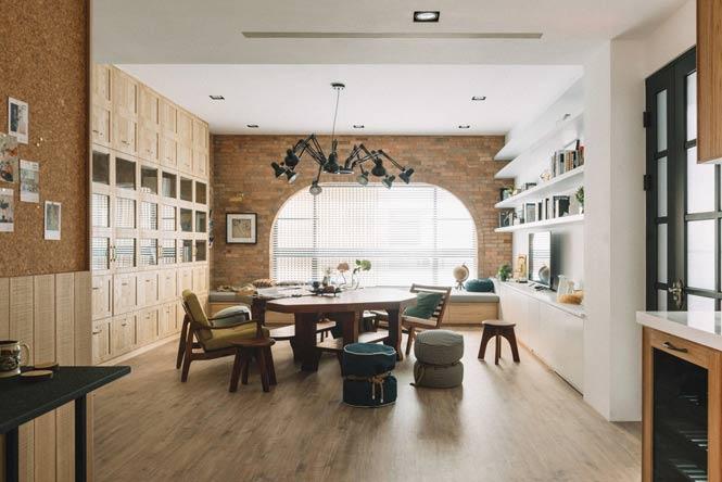Ngôi nhà với thiết kế độc đáo dành cho gia đình có nhiều thế hệ thiet ke noi that can ho chung cu 7