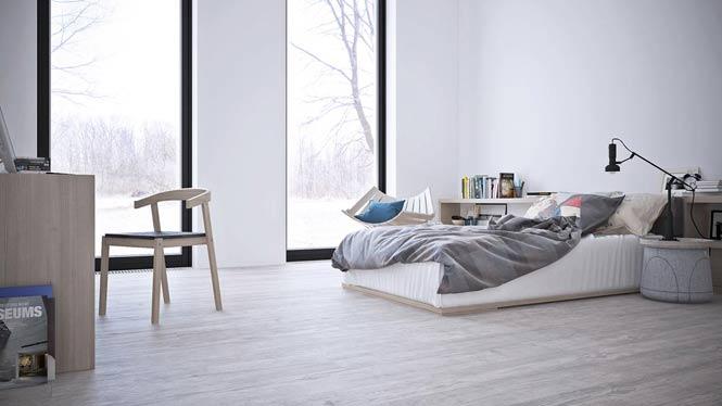 Thiết kế căn hộ thanh lịch và đơn giản với tông màu xám – trắng thiet ke noi that can ho toi gian 16