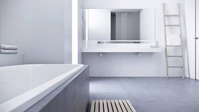 Thiết kế căn hộ thanh lịch và đơn giản với tông màu xám – trắng thiet ke noi that can ho toi gian 8