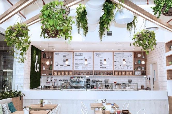 Nhà hàng Poke & Co của Studio EM, Dubai - UAE thiet ke thi cong noi that nha hang 1