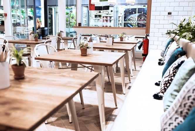 Nhà hàng Poke & Co của Studio EM, Dubai - UAE thiet ke thi cong noi that nha hang 2