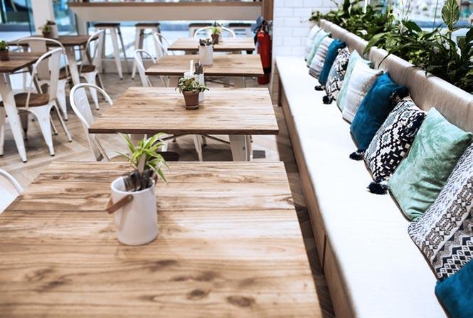 Nhà hàng Poke & Co của Studio EM, Dubai - UAE thiet ke thi cong noi that nha hang 5