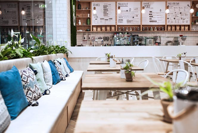 Nhà hàng Poke & Co của Studio EM, Dubai - UAE thiet ke thi cong noi that nha hang 6