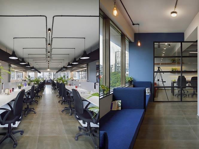 Work Better - Không gian văn phòng với thiết kế xanh bắt mắt thiet ke thi cong noi that van phong 13