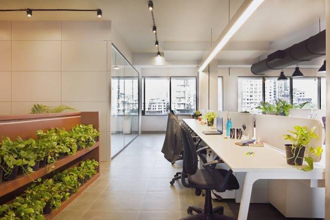Work Better - Không gian văn phòng với thiết kế xanh bắt mắt thiet ke thi cong noi that van phong 22