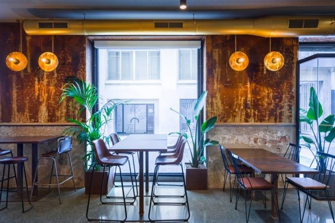 La Manera Gastrobar by Masquespacio, Valencia – Spain thiet ke thi cong quan cafe 2
