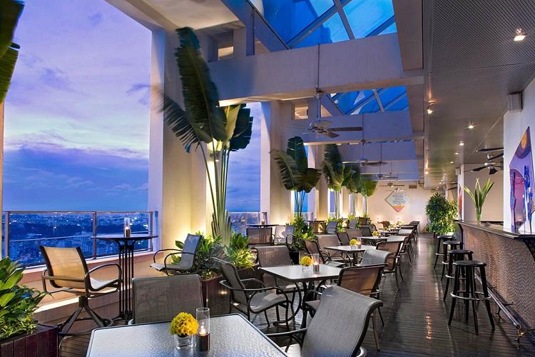 Khám phá 7 quán bar Rooftop 'sang chảnh' giữa Sài Gòn bar dep