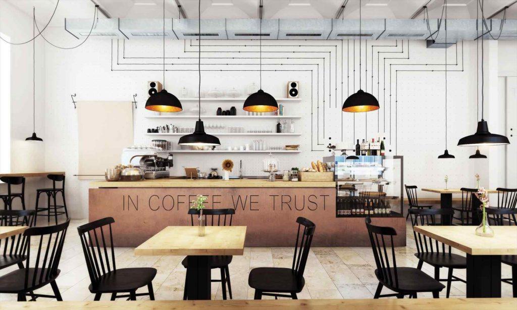 Thiết kế thi công nội thất quán cafe mau quan cafe dep 4
