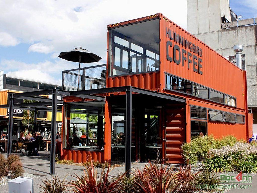 Những ý tưởng thiết kế quán cafe container cực hút khách quan cafe container 2 1024x1024
