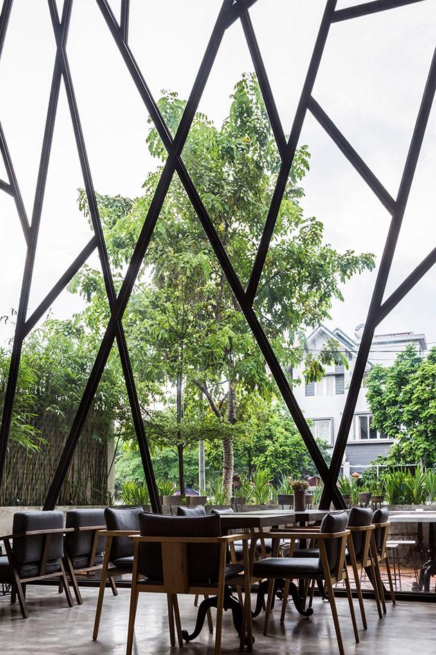 Tăng doanh thu quán cafe từ sự khác biệt trong phong cách thiết kế nội thất quan cafe dep 2