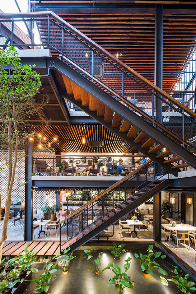 Tăng doanh thu quán cafe từ sự khác biệt trong phong cách thiết kế nội thất quan cafe dep 3