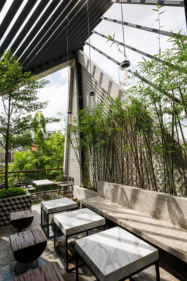 Tăng doanh thu quán cafe từ sự khác biệt trong phong cách thiết kế nội thất quan cafe dep 6
