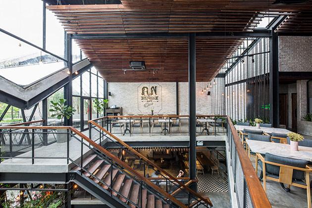 Tăng doanh thu quán cafe từ sự khác biệt trong phong cách thiết kế nội thất quan cafe dep 7