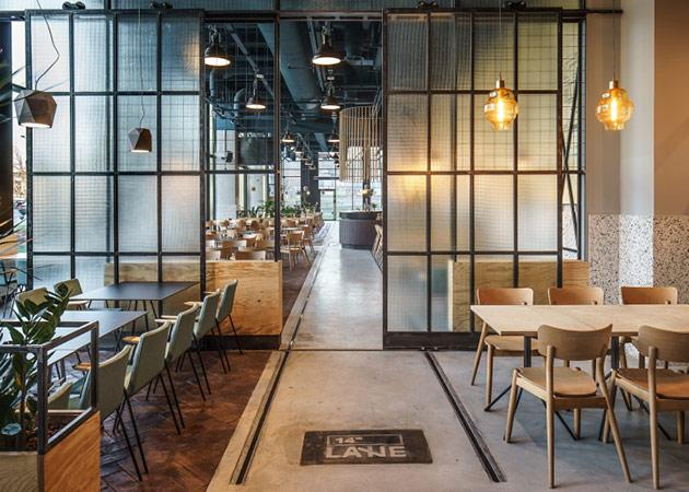 Thiết kế thi công nội thất nhà hàng thiet ke nha hang hien dai 11