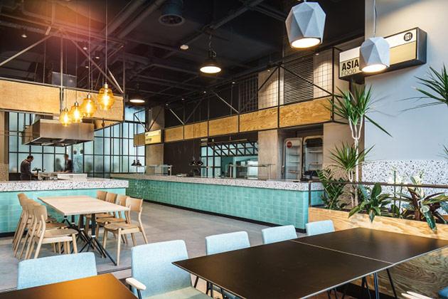 Thiết kế thi công nội thất nhà hàng thiet ke nha hang hien dai 13