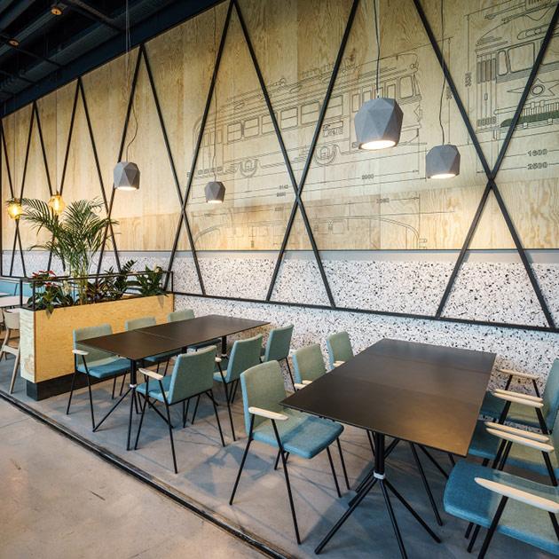 Thiết kế thi công nội thất nhà hàng thiet ke nha hang hien dai 14