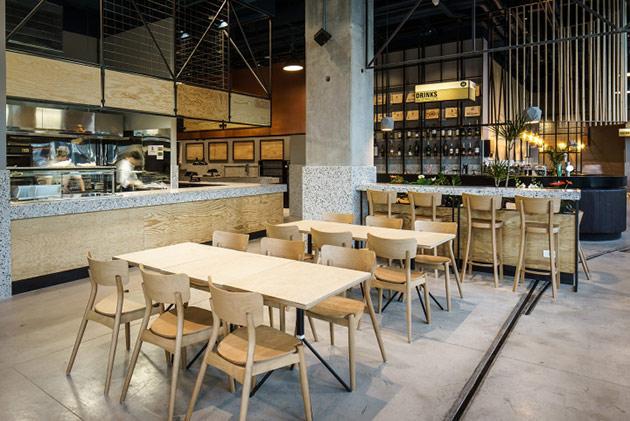 Thiết kế thi công nội thất nhà hàng thiet ke nha hang hien dai 16