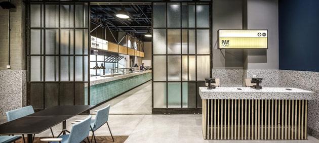 Thiết kế thi công nội thất nhà hàng thiet ke nha hang hien dai 17