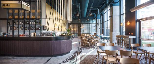 Thiết kế thi công nội thất nhà hàng thiet ke nha hang hien dai 5