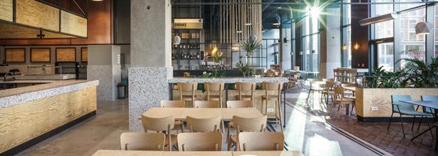 Thiết kế thi công nội thất nhà hàng thiet ke nha hang hien dai 7