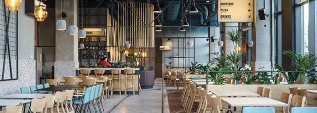 Thiết kế thi công nội thất nhà hàng thiet ke nha hang hien dai 9