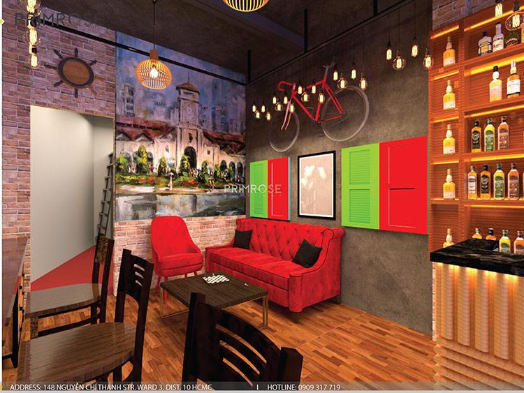Native Bar – Huỳnh Thúc Kháng, Q.1, P.Bến Nghé, TP.HCM thiet ke noi that quan bar 3