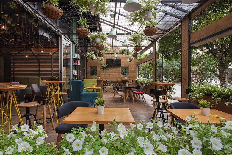 Những ý tưởng thiết kế quán cafe container cực hút khách thiet ke quan cafe container 3