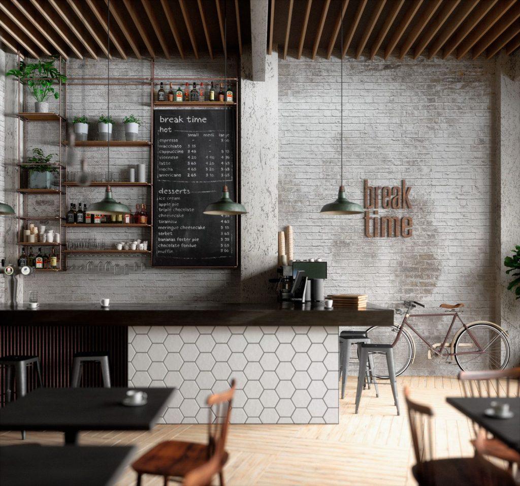 Yếu tố quan trọng giúp quán cafe thu hút khách hàng thiet ke quan cafe dep