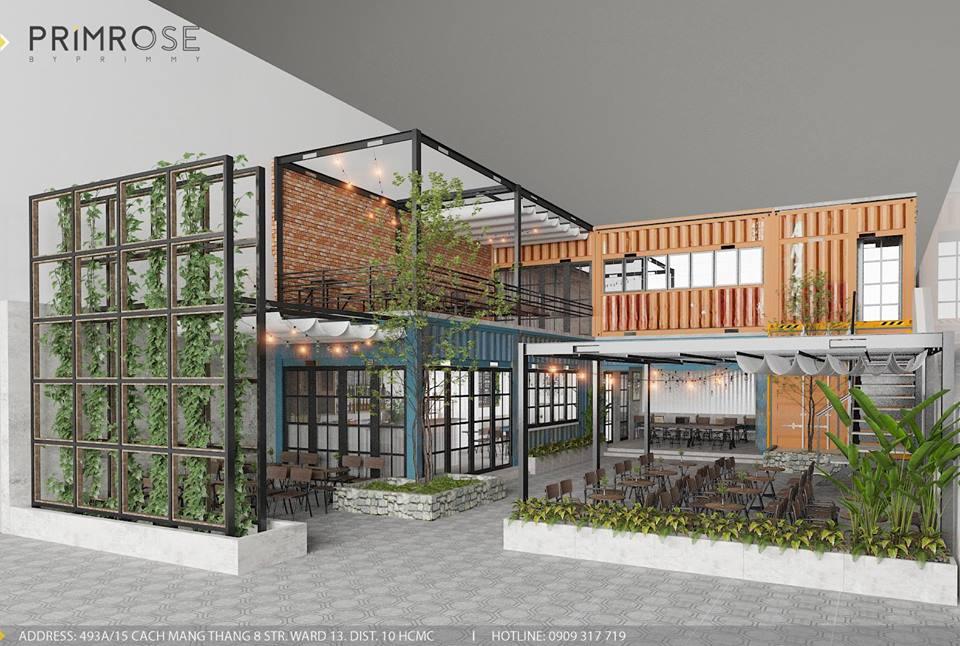 Mik Tea Shop - Thiết kế quán cafe container thiet ke quan cafe doc dao 1