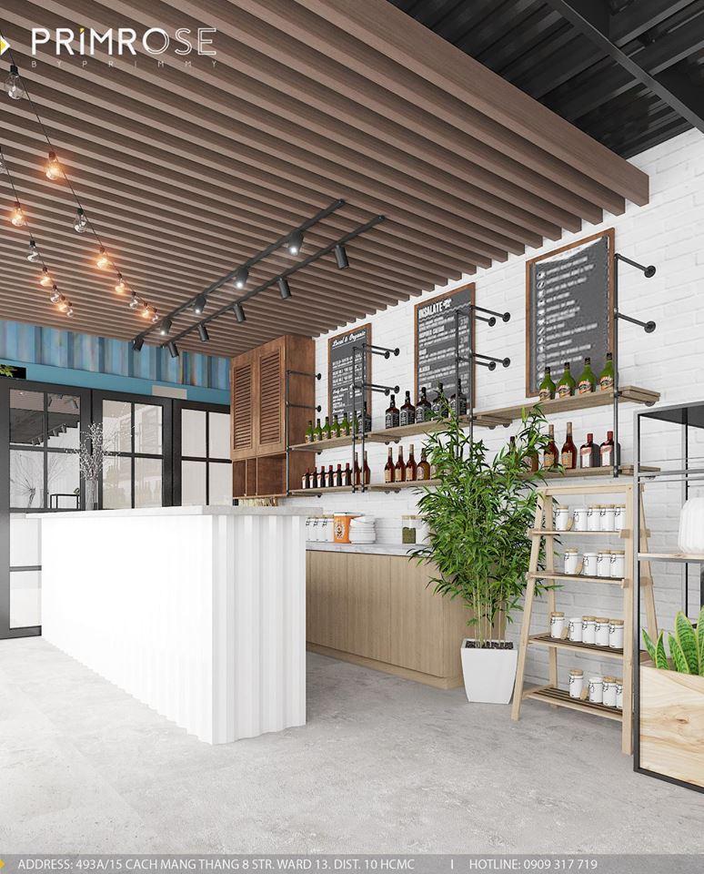 Mik Tea Shop - Thiết kế quán cafe container thiet ke quan cafe doc dao 3