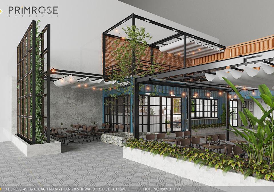 Mik Tea Shop - Thiết kế quán cafe container thiet ke quan cafe doc dao 4