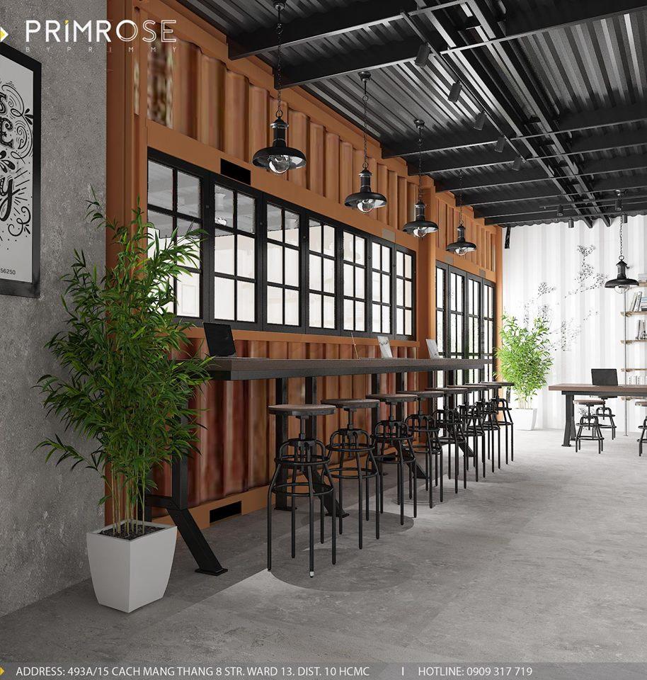 Mik Tea Shop - Thiết kế quán cafe container thiet ke quan cafe doc dao 5