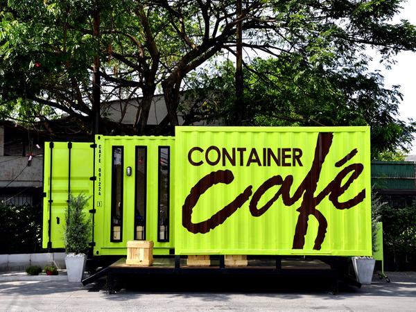 Những ý tưởng thiết kế quán cafe container cực hút khách y tuong kinh doanh cafe container la y tuong kinh doanh quan cafe doc dao