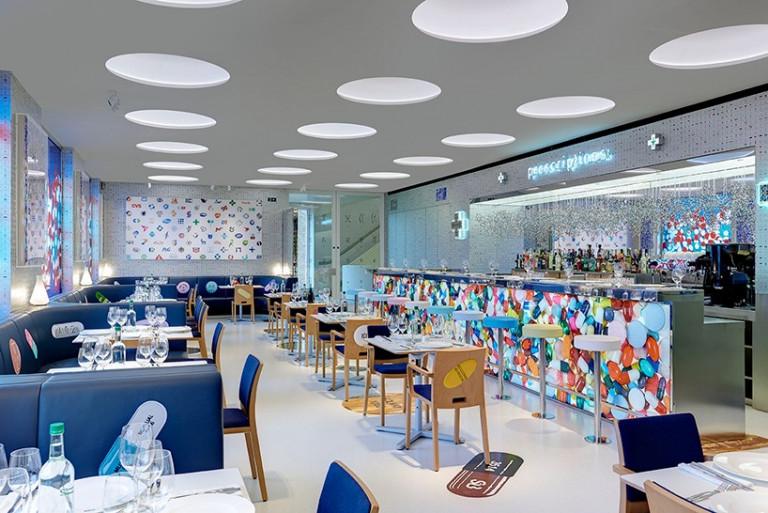10 mẫu thiết kế nhà hàng nổi bật trên thế giới mau thiet ke noi that nha hang noi bat 3
