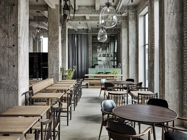 10 mẫu thiết kế nhà hàng nổi bật trên thế giới mau thiet ke noi that nha hang noi bat 8